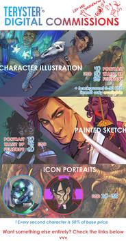 [OPEN] COMMISSIONS PRICELIST [UPDATED 2020]