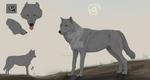 Wolf line \ FOR SALE \ BAZE \ P2U| by InsomnieVargho