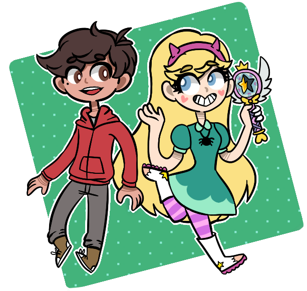 [FA]: Star and Marco! by SimplyDefault