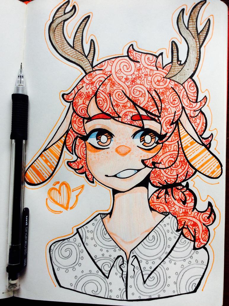 [C]: Deer Boi by SimplyDefault