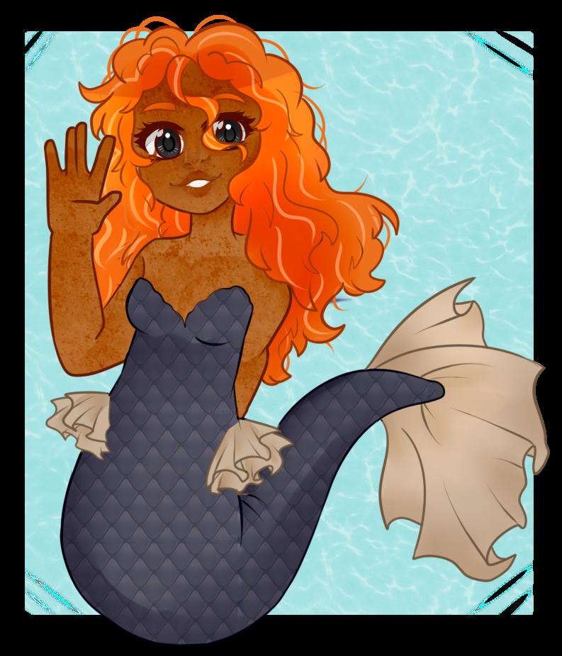 [Gift]: Mermaid gal by SimplyDefault