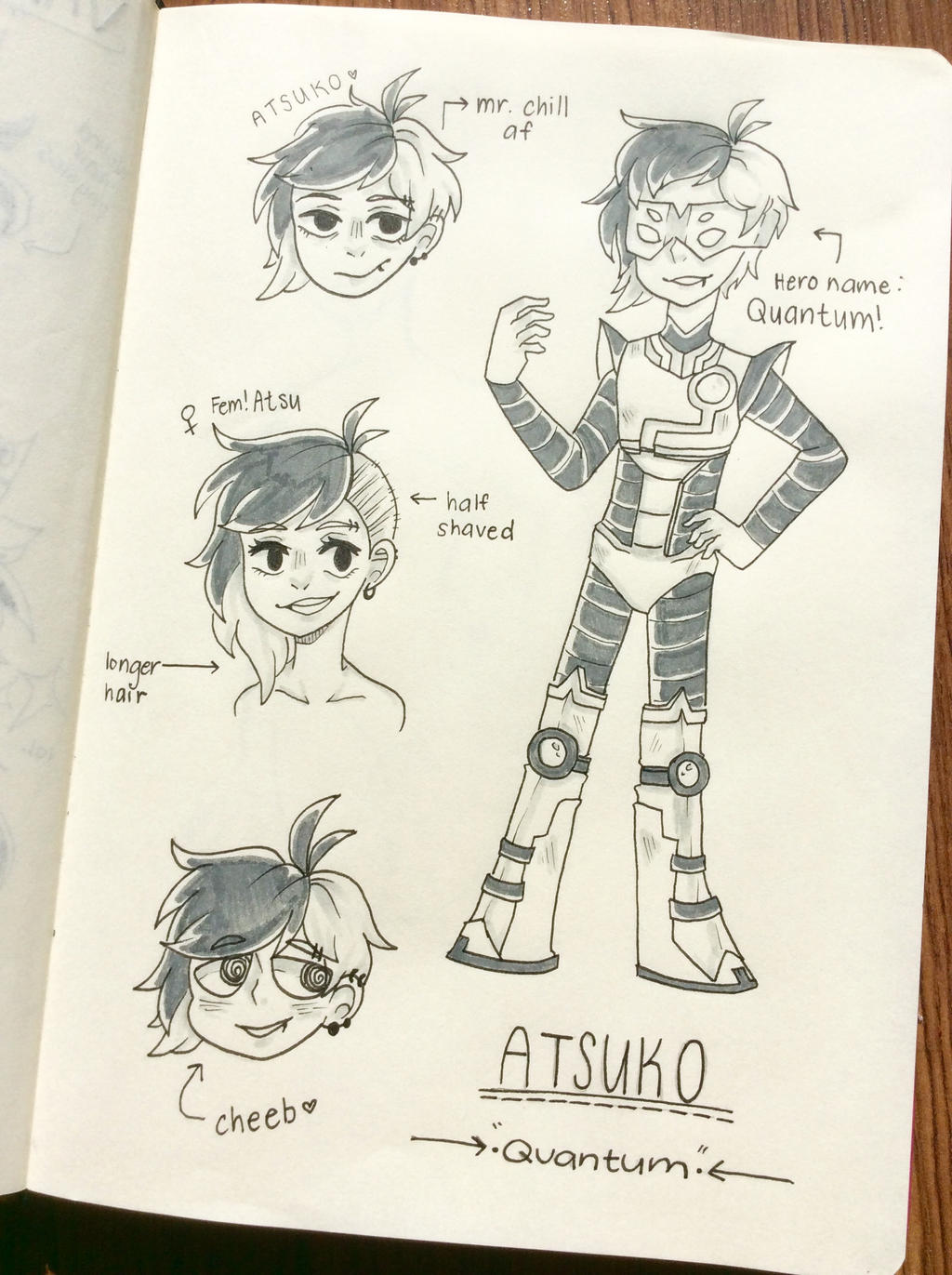 [OC]: Atsuko doodles by SimplyDefault