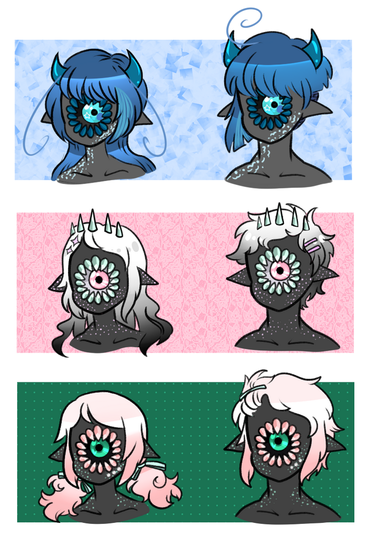 [C]: Genderswapped!Xyns by SimplyDefault