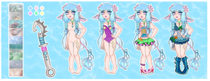 [Adopts]: Sweetly Siren Lockette (CLOSED) by SimplyDefault