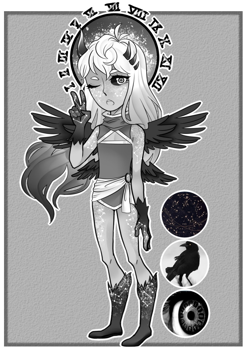 [Adopt]: Void Traveller by SimplyDefault