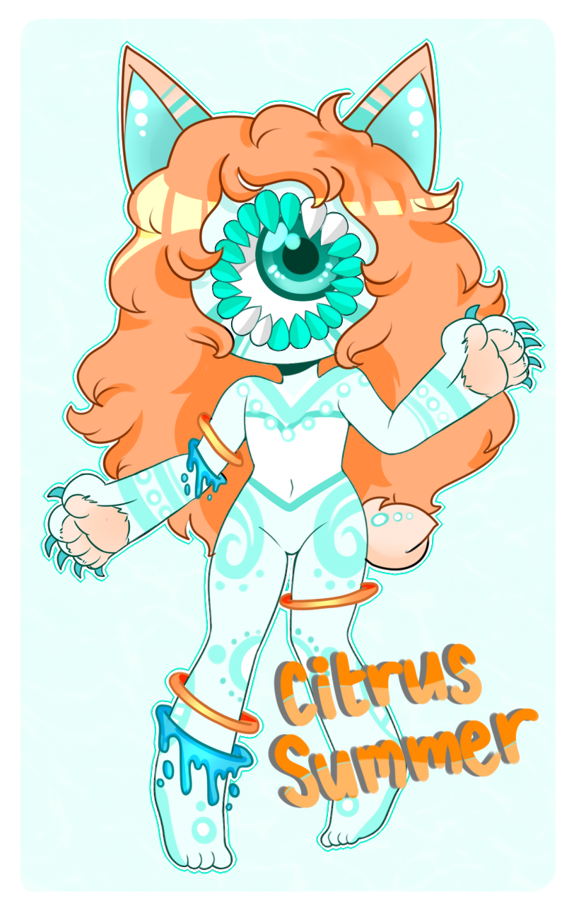 [Adopts]: Citrus Summer (OPEN) by SimplyDefault