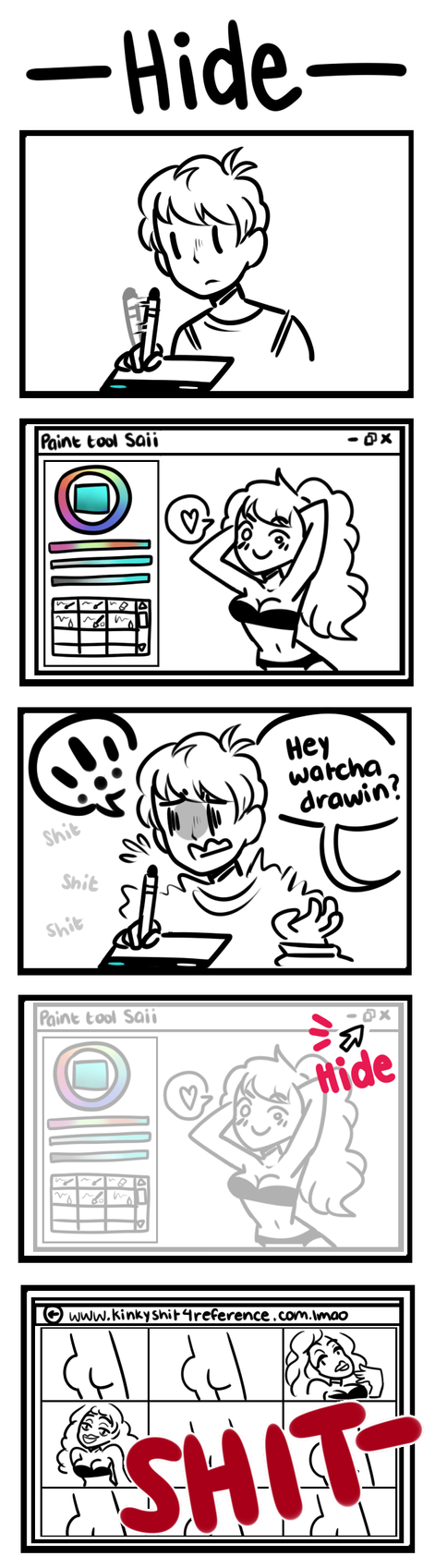 [Comic]: Hide by SimplyDefault