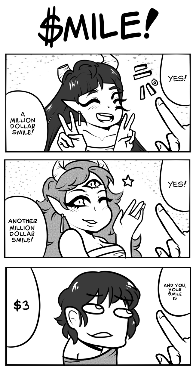 [Comic]: $MILE! by SimplyDefault