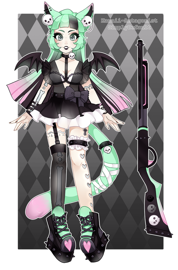 [Adopts]: Pastel Punk Lockette  Collab (CLOSED) by SimplyDefault