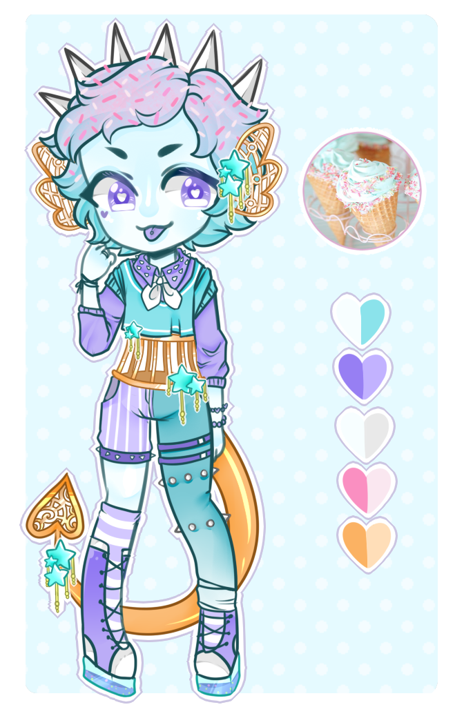 [Adopts]: Blue Moon Icecream by SimplyDefault