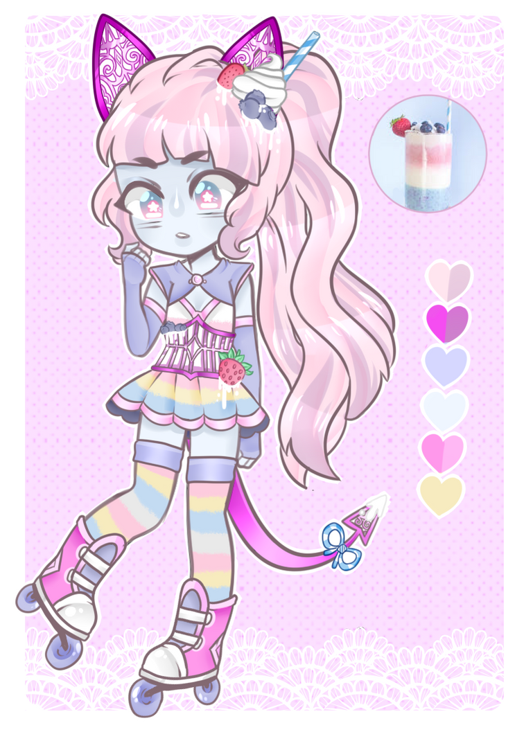 [Adopts]: Fruity Parfait by SimplyDefault