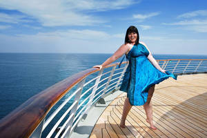 Marilyn on A cruise by StellaDean