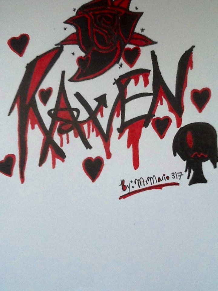 Raven graffiti by MsMario317