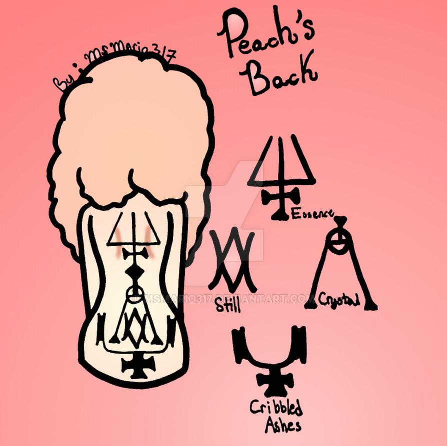 Peach's Back  by MsMario317