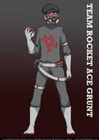 Team Rocket Ace Grunt by eadgear