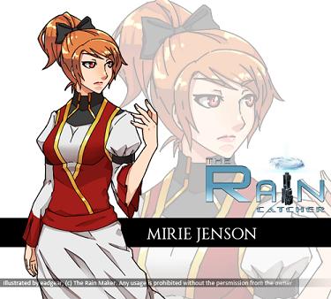Mirie Jenson by eadgear
