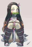 Nezuko Fanart by eadgear