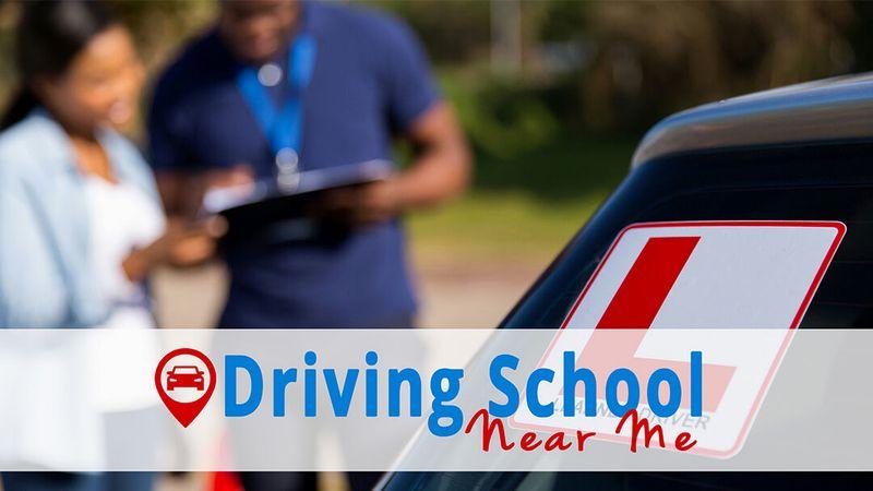 Book Cover School Near Me : Drivingschoolnearme za cover image by