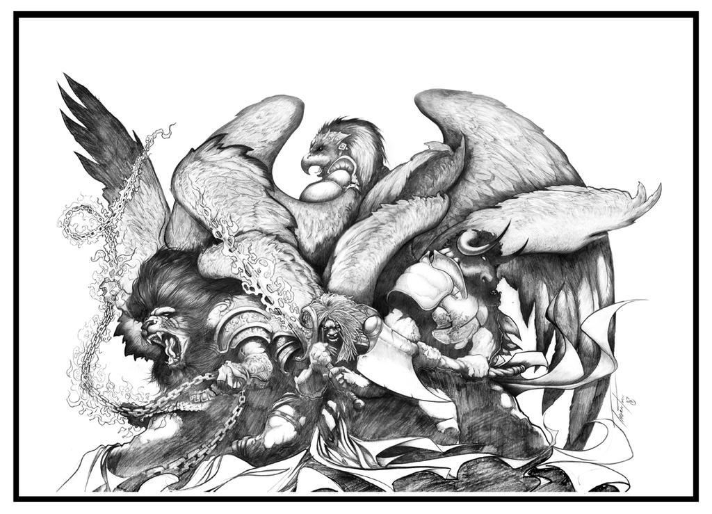 The gallery for --> Cherubim And Seraphim