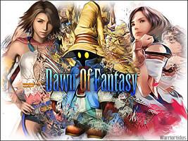 Logo Dawn Of Fantasy by Warriortidus