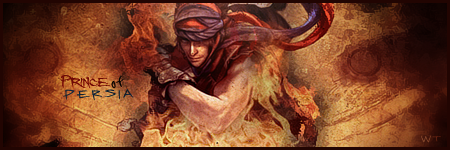 Prince Of Persia Sign' by Warriortidus