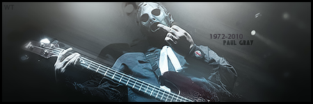 Paul Gray R.I.P Sign' by Warriortidus