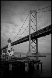 Bay Bridge BW 2
