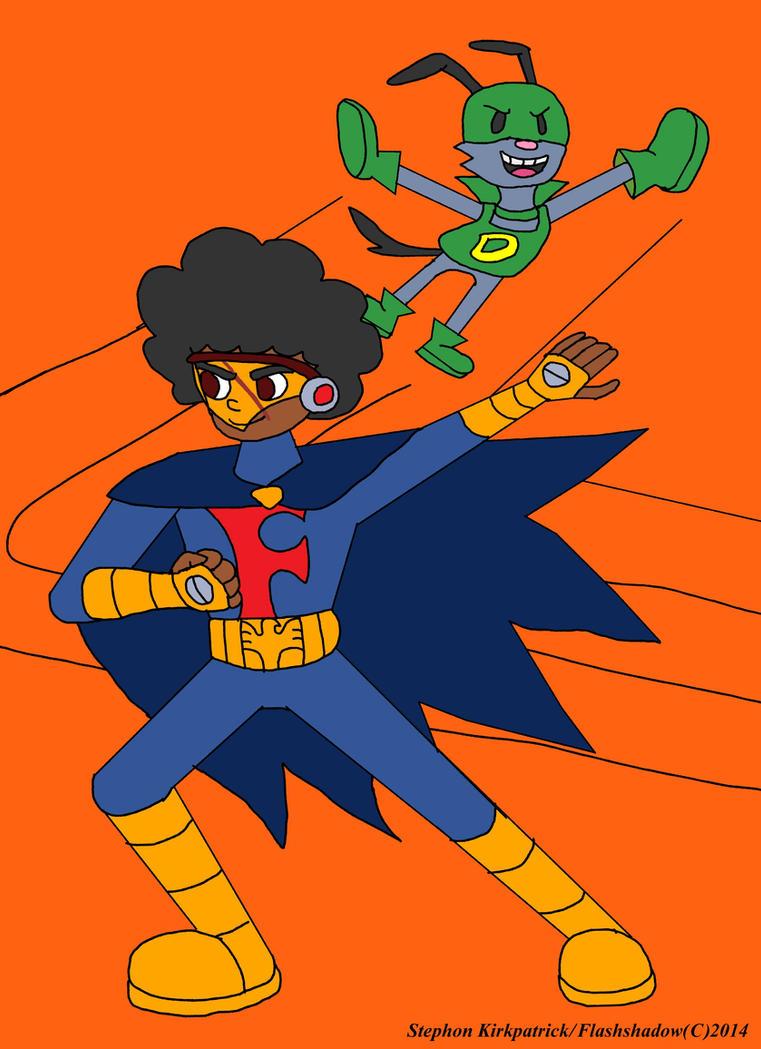 Shonnie Flash and Cheeko D. Halloween Costumes by Flashshadow