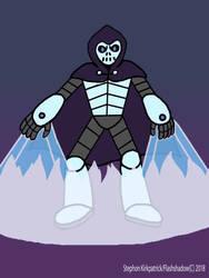 Inktober Day 14: Cryogenic Criminal - Dr. Skulldor