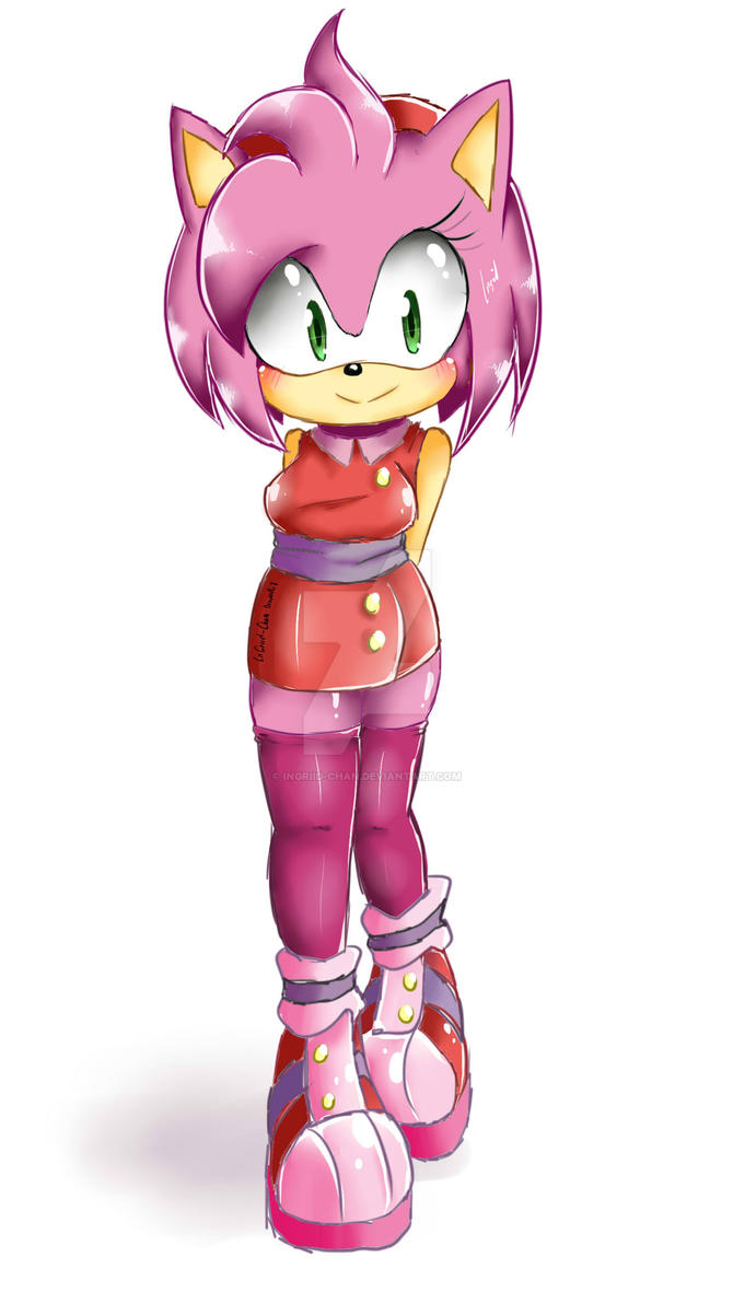 Amy Rose Boom + SPEED PAINT  [again] by InGriid-Chan
