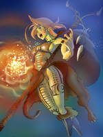 Shamanic Sorceress by MeGook
