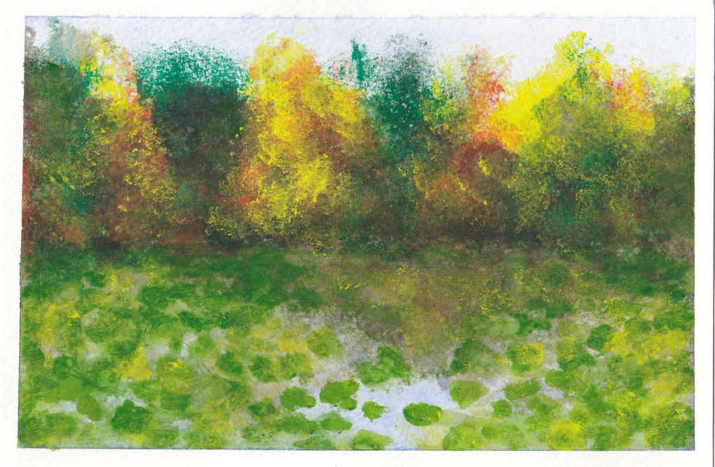 Dreary Lake by ArtEatsYou