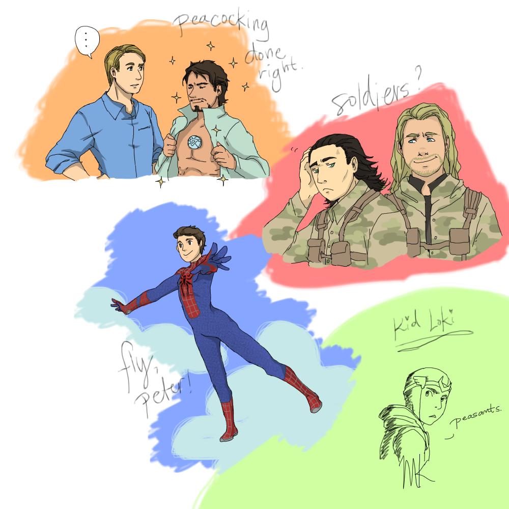 More Marvel Stuff by Ichiban-Ramen