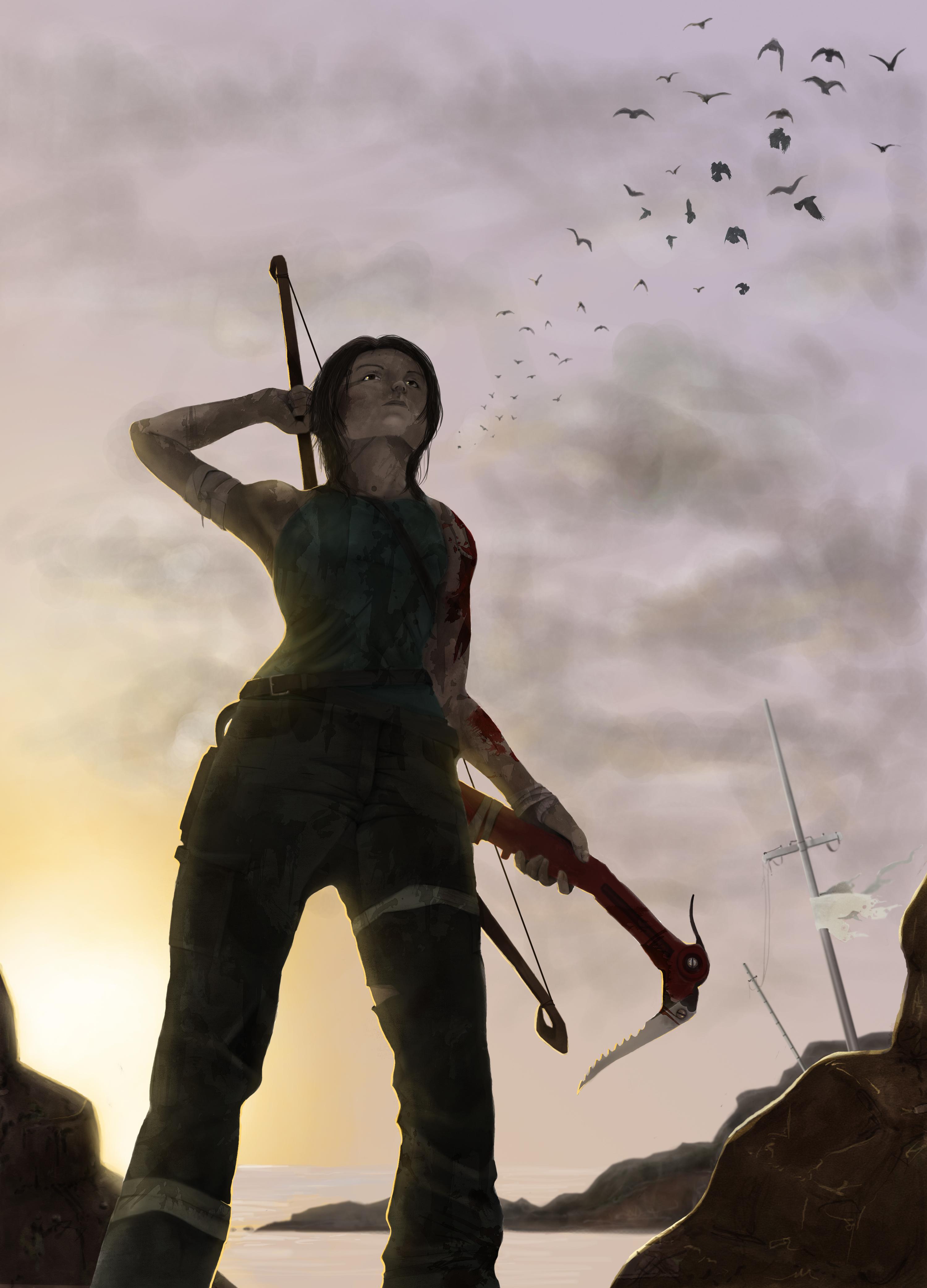 Lara Croft Tomb Raider Reborn by sofear