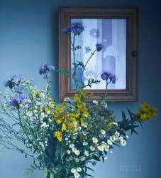 Vase and case by destelart