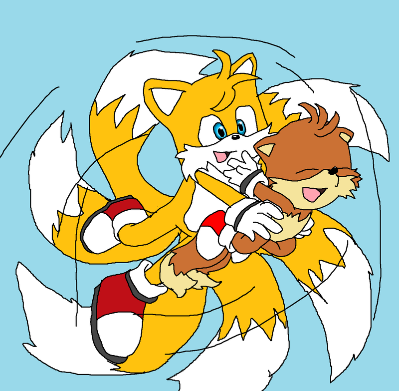 Miles Tails Prower: Miles Tails Prower By Midnightflaze On DeviantArt