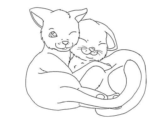 cat base: cuddle