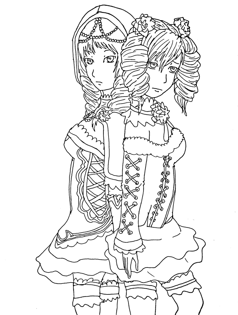 Viola amy by midnightflaze on deviantart for Viola coloring page