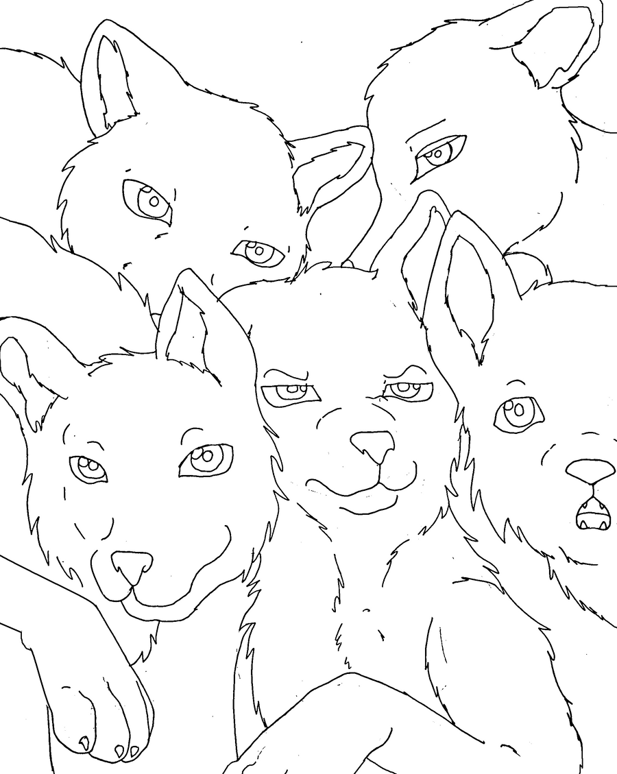 100 Free Winged Wolf Lineart By Cederin On Deviantart