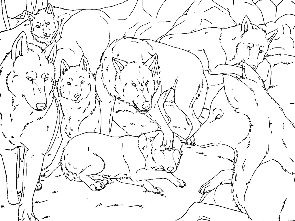 balto howling coloring pages - photo #44