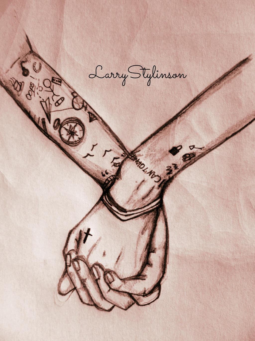 Sad Larry Styli... Larry Stylinson Hug Gif