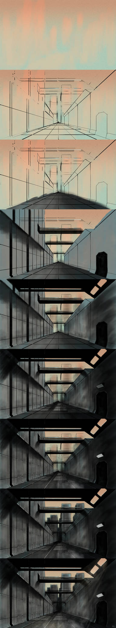 City Concept Steps