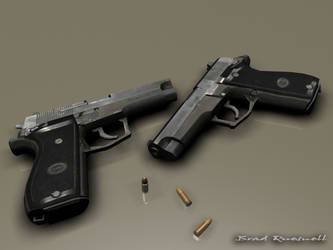 Daewoo DP51 handgun by TheRealSlimPickins