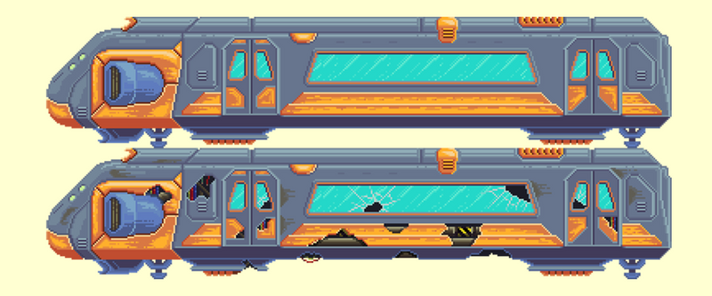 Subway Train WIP by Dulcahn