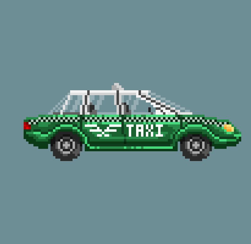 Another Space Opera Game Taxi Asset by Dulcahn