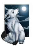 Song of lonly wolf