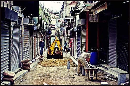 street construction