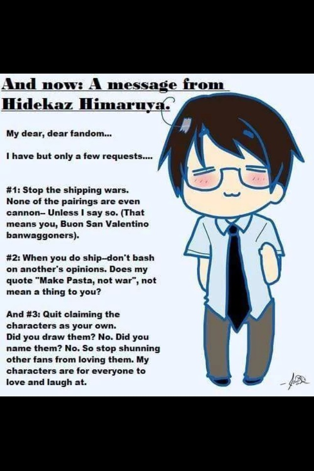 HIMA PAPA HAS SPOKEN!!!! by KikotheKutie
