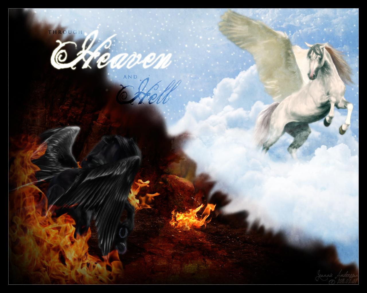 heaven vs hell art - photo #14
