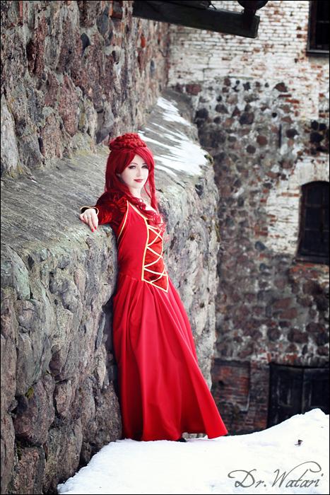 The red priestess by Alvi